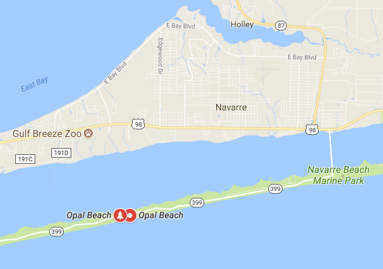 opal beach location